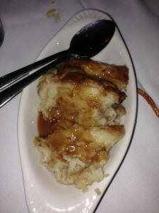 Bread Pudding that we did not order