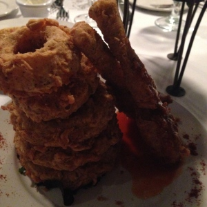 Onion Rings and Frog Legs